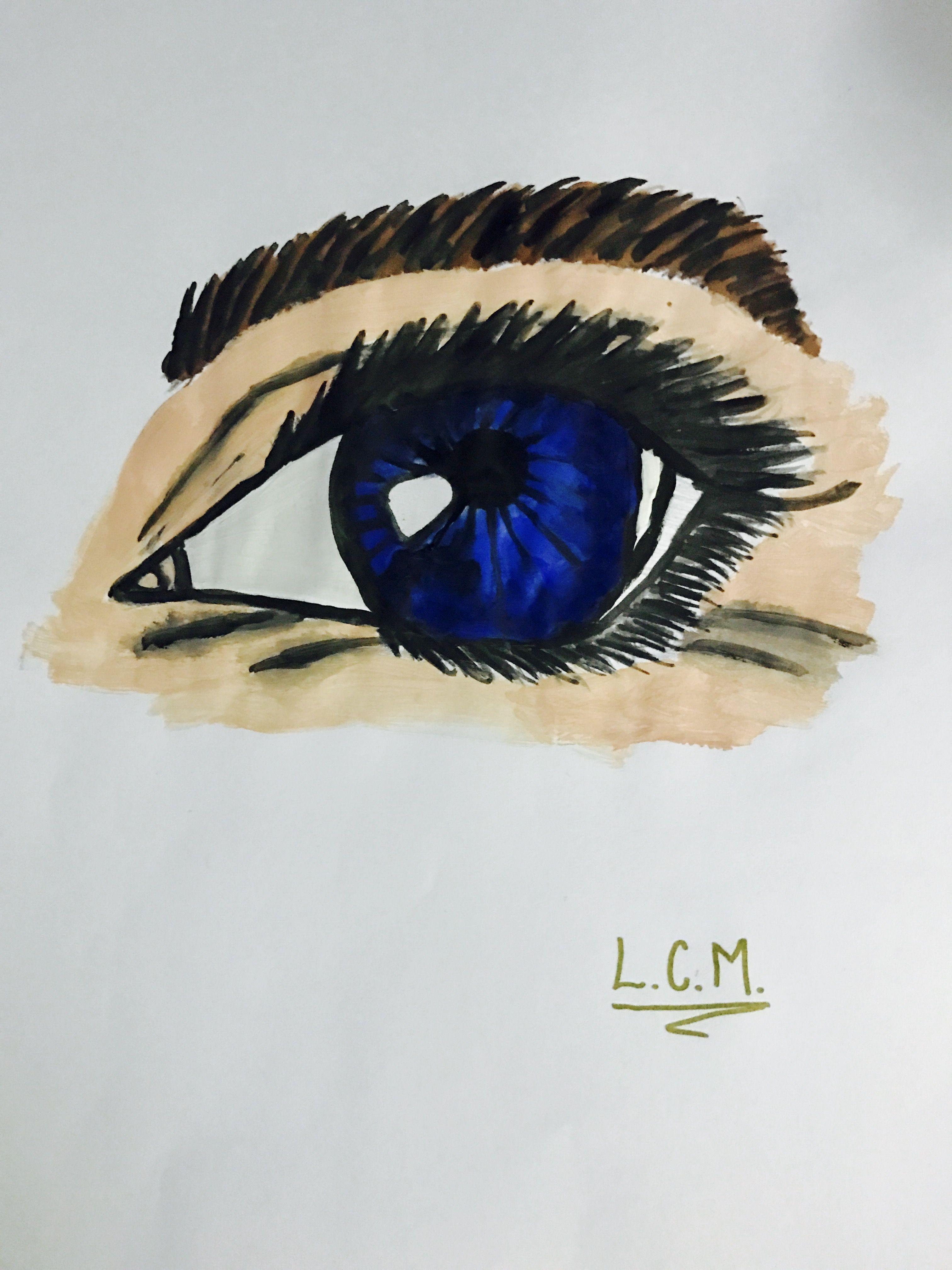 Eye ART by me💙