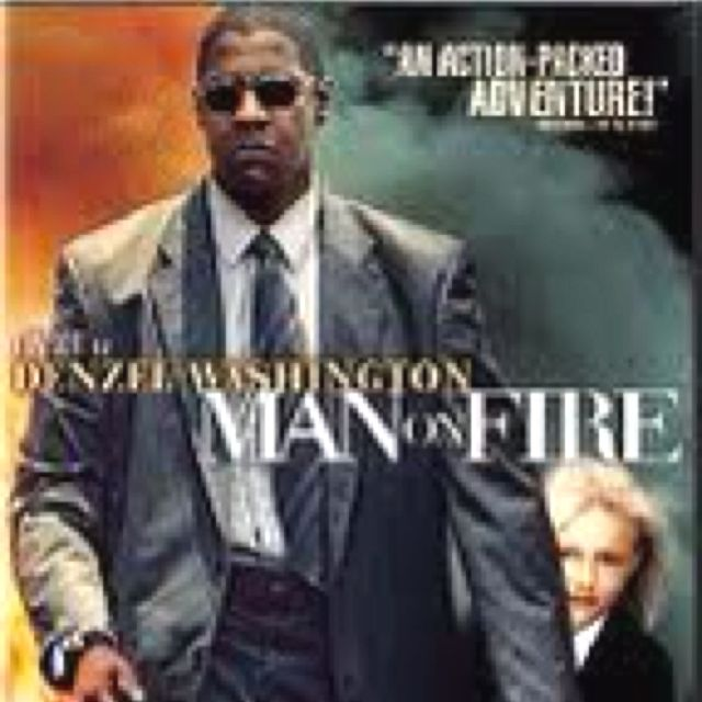 Man on fire ... One of my top 10. Denzel role is classic.