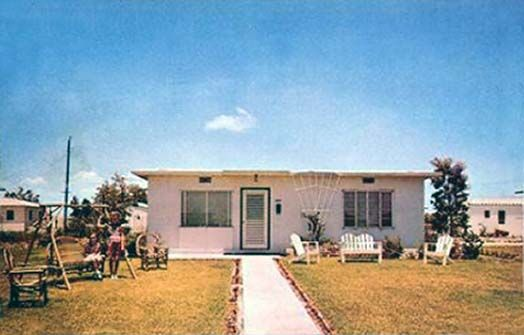 1950 S A Solid Concrete Flat Roof House Roof Flat Roof House