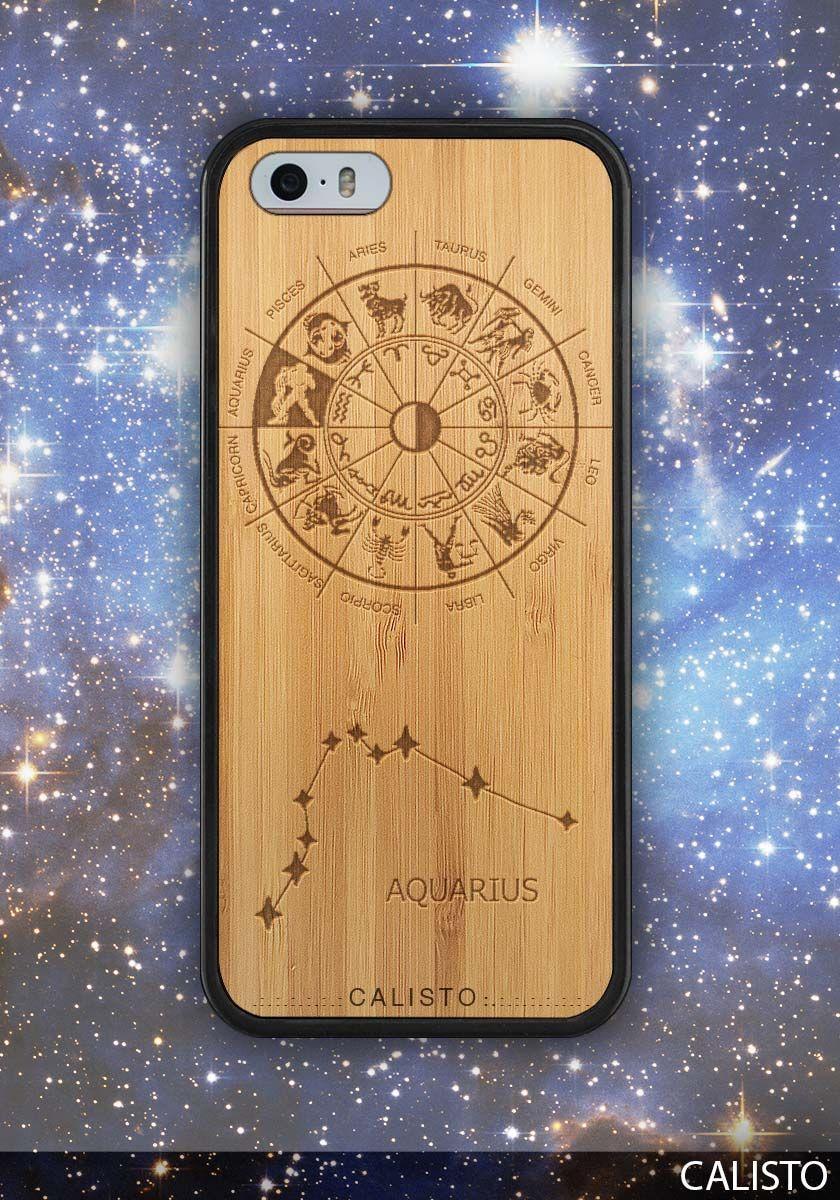 Zodiac Aquarius Sign Case for iPhone 5 - 5s iPhone SE