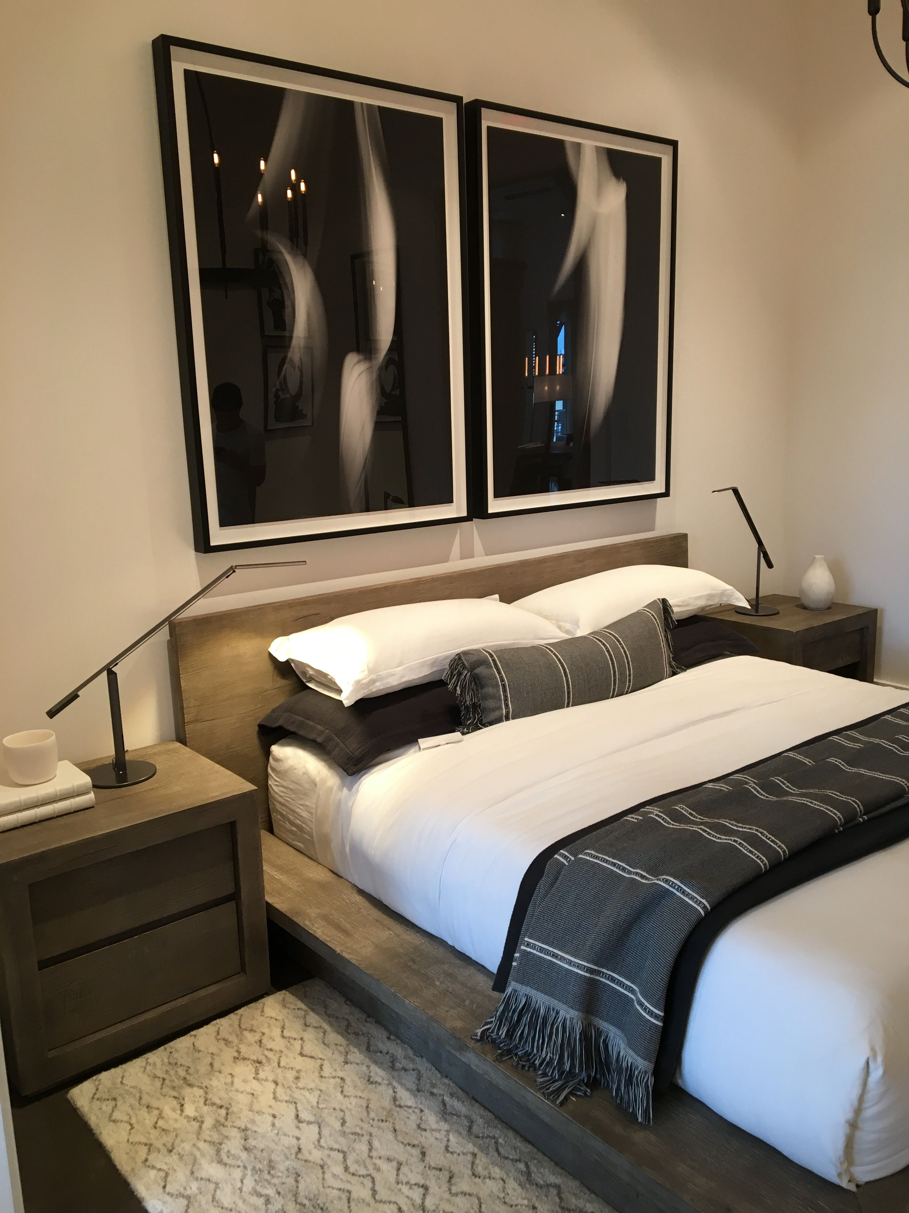Restoration Hardware Bedroom, Austin TX Showroom