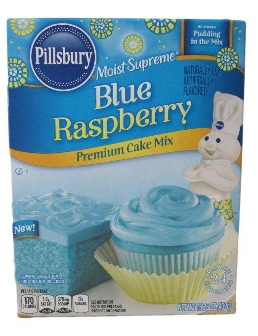 Pillsbury Blue Raspberry Premium Cake Mix Pretty Pastels For Spring Raspberry Cake Blue Raspberry Cake Mix