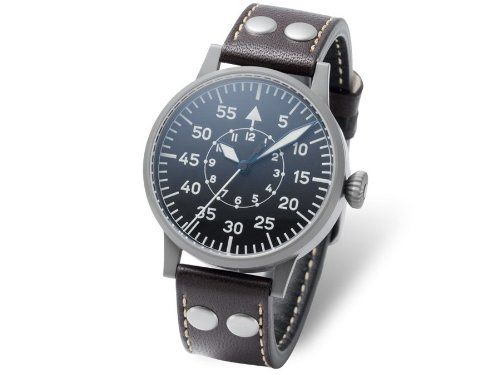 f1d6150f820 Laco Friedrichshafen Type B Dial Swiss Automatic Pilot Watch with Sapphire  Crystal 861753    You