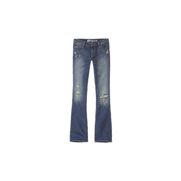 Bullhead Jeans - Womens - Laguna Bootcut Medium Blue Destroyed (670 ARS) ❤  liked a94e273be3