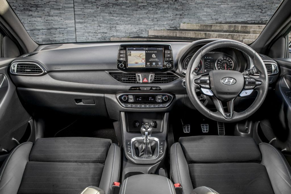 2018 Hyundai i30N Performance Pack Review Dashboard