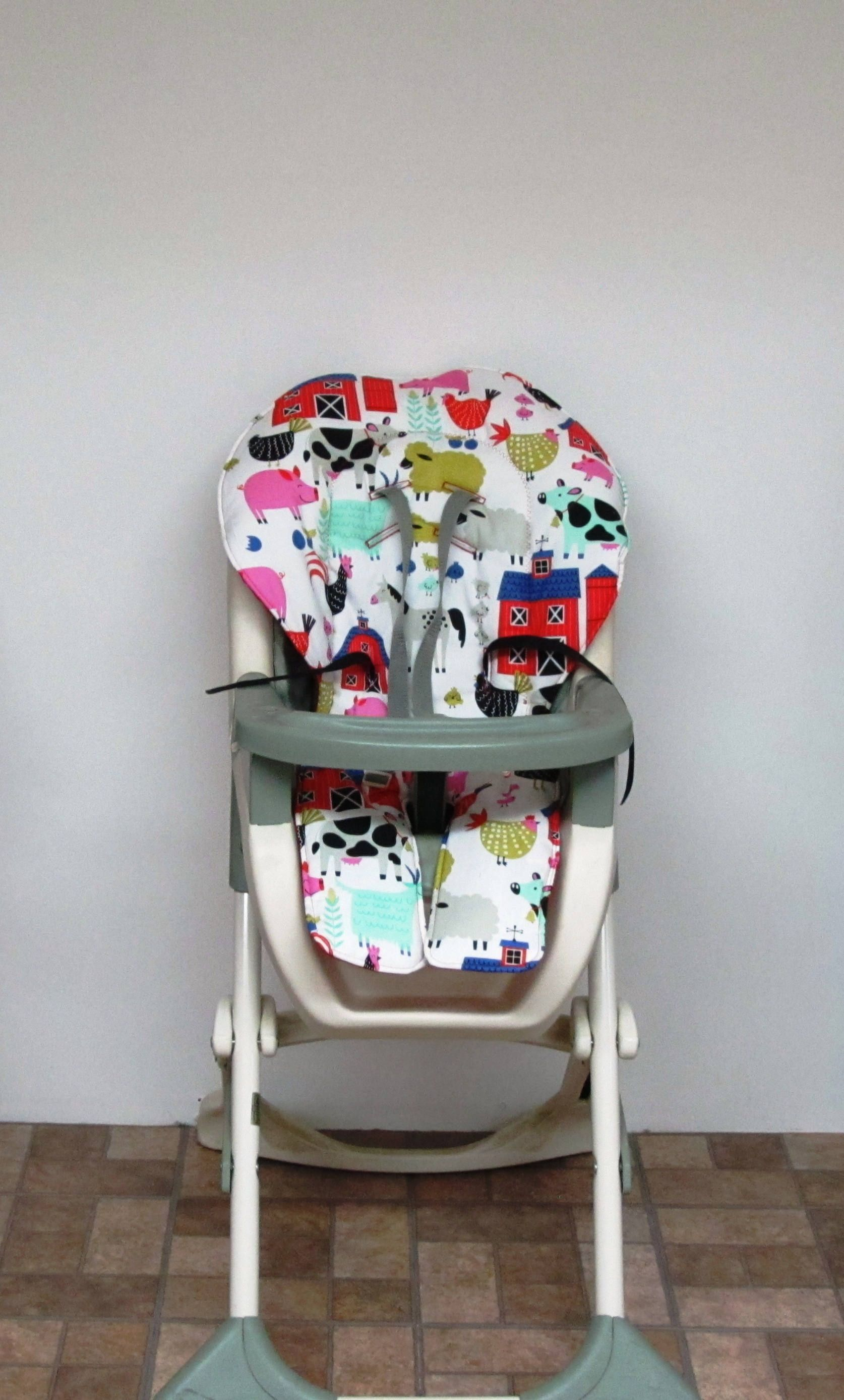 Graco high chair cover, baby accessory cotton replacement