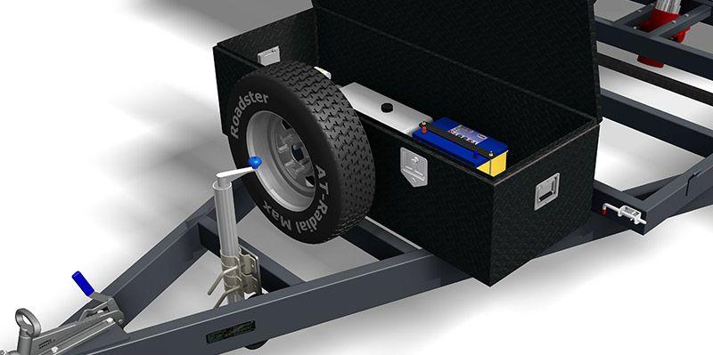 3400kg Hydraulic Tipper Trailer - Trailer PLANS - Build your own trailer - www.trailerplans.com.au