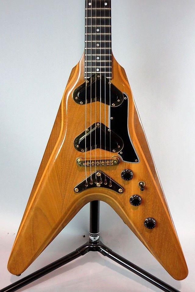 gibson 1979 flying v 2 vintage modern guitars in 2019 archtop guitar vintage guitars. Black Bedroom Furniture Sets. Home Design Ideas