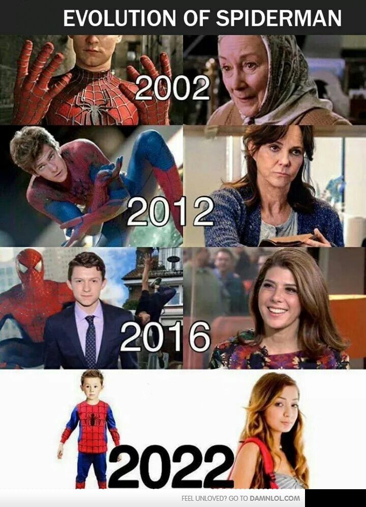 Exactly. I can't believe Civil War went backwards with Peter Parker's development. Peter has been an adult & married to Mary Jane for nearly 30 years.