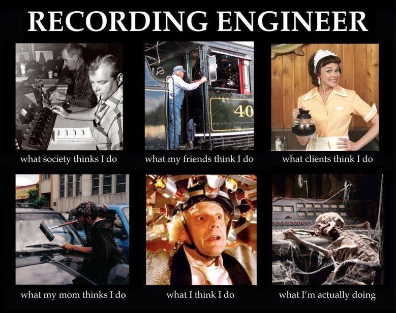 Funniest Meme Music : Recording engineer facts meme