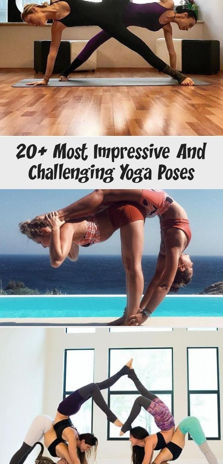 20  Most Impressive and Challenging Yoga Poses #YogaFitness #Asana #AcroYoga #YogaPoses #PartnerYoga...