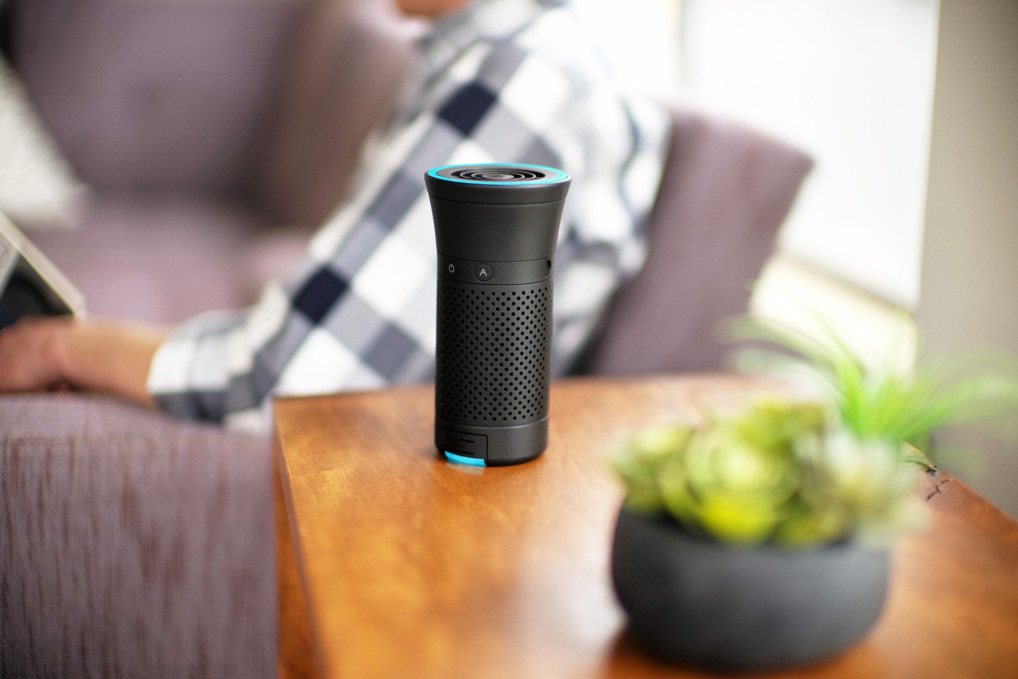 Wynd Plus Smart Personal Air Purifier with Air Quality