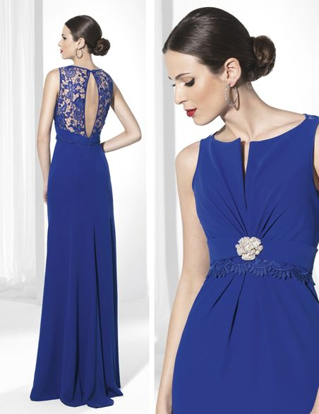 Vestidos de fiesta largos azules