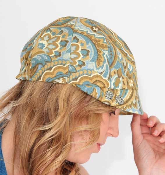 Newsboy Hat Sewing Pattern - Womens Hats Sewing Pattern ccbc87a63bdc