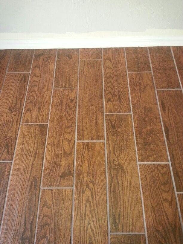 home depot porcelain wood look tile