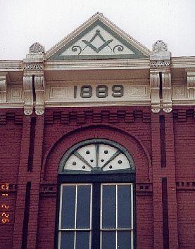 1889 masonic lodge in Waxahachie, Texas | Mason Lodges