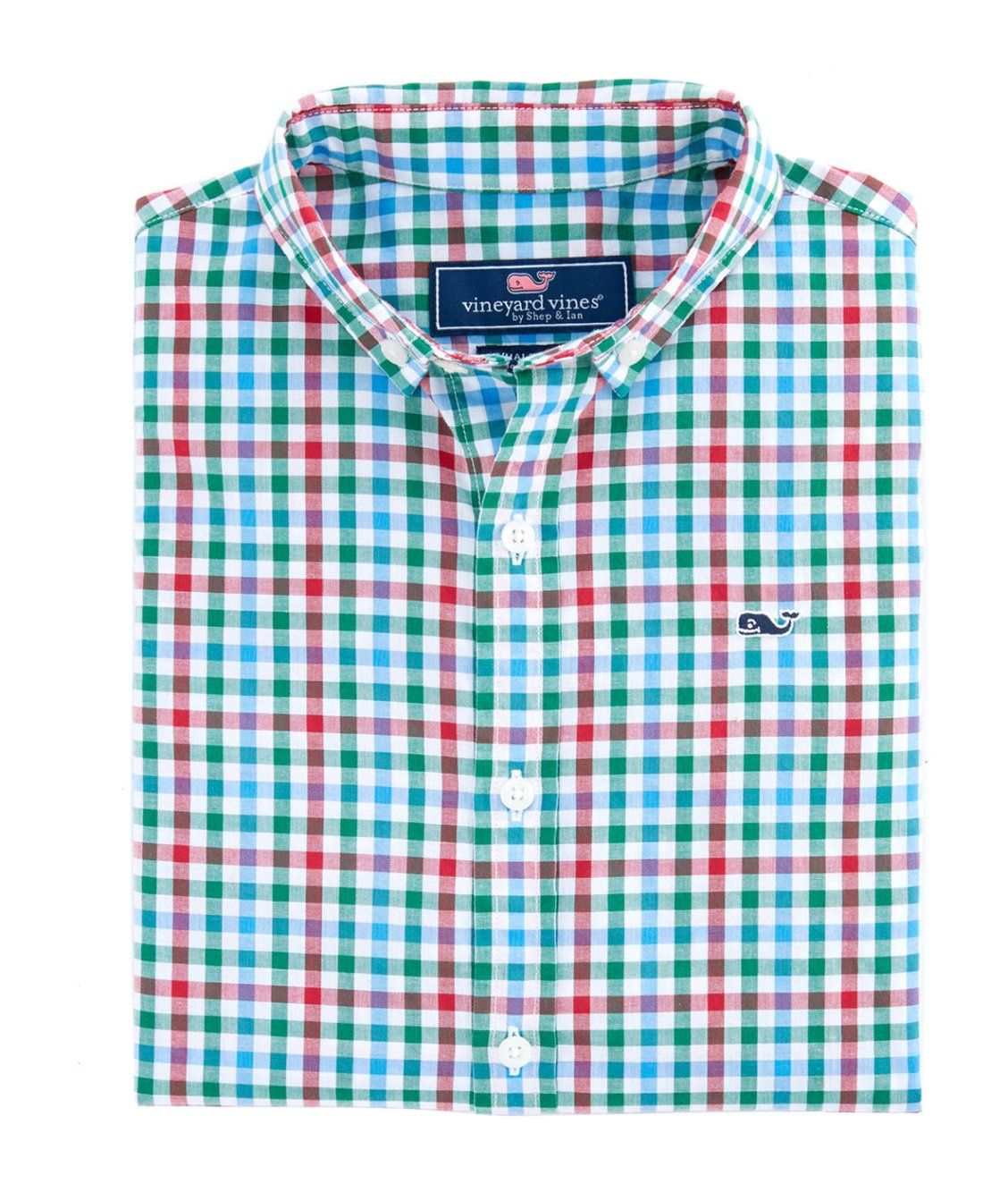 f728002e Boys Higgins Beach Gingham Poplin Whale Shirt | new arrivals | Whale ...