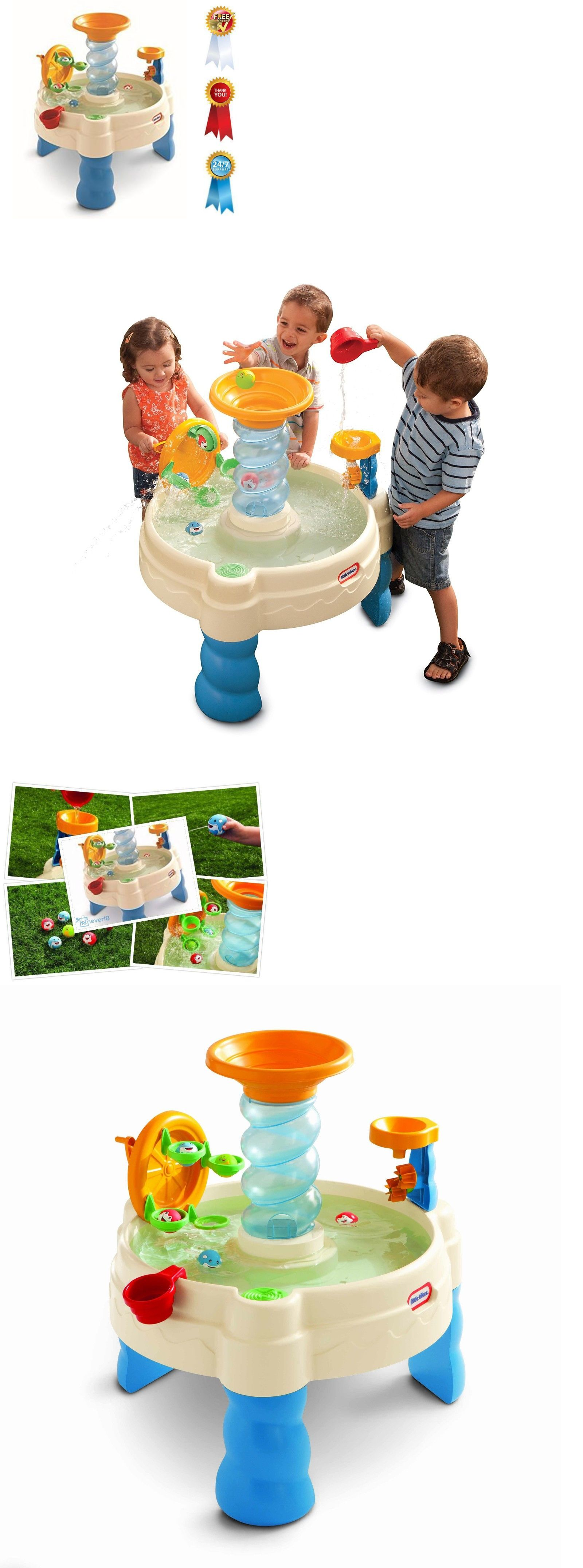 Water Toys Little Tikes Spiralin Seas Waterpark Play Table