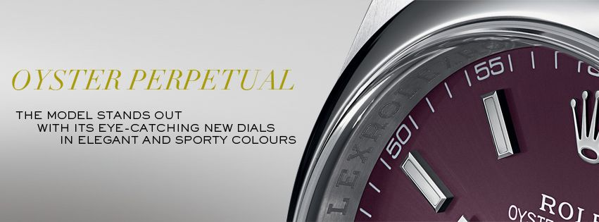 #Rolex is introducing updated versions of its Oyster Perpetual model in 31 and 36 mm with exclusive new dials.