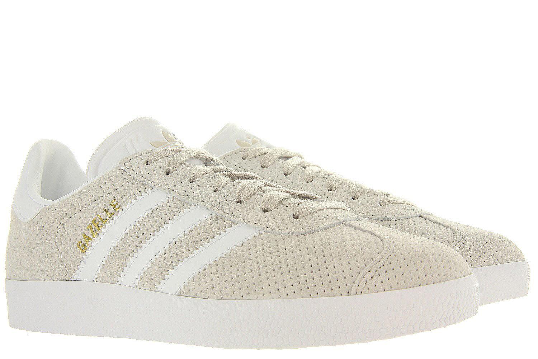 f5aca6c20d6 Damesschoenen Gazelle W - Cbrown/ftwwh - Adidas Originals beige ...