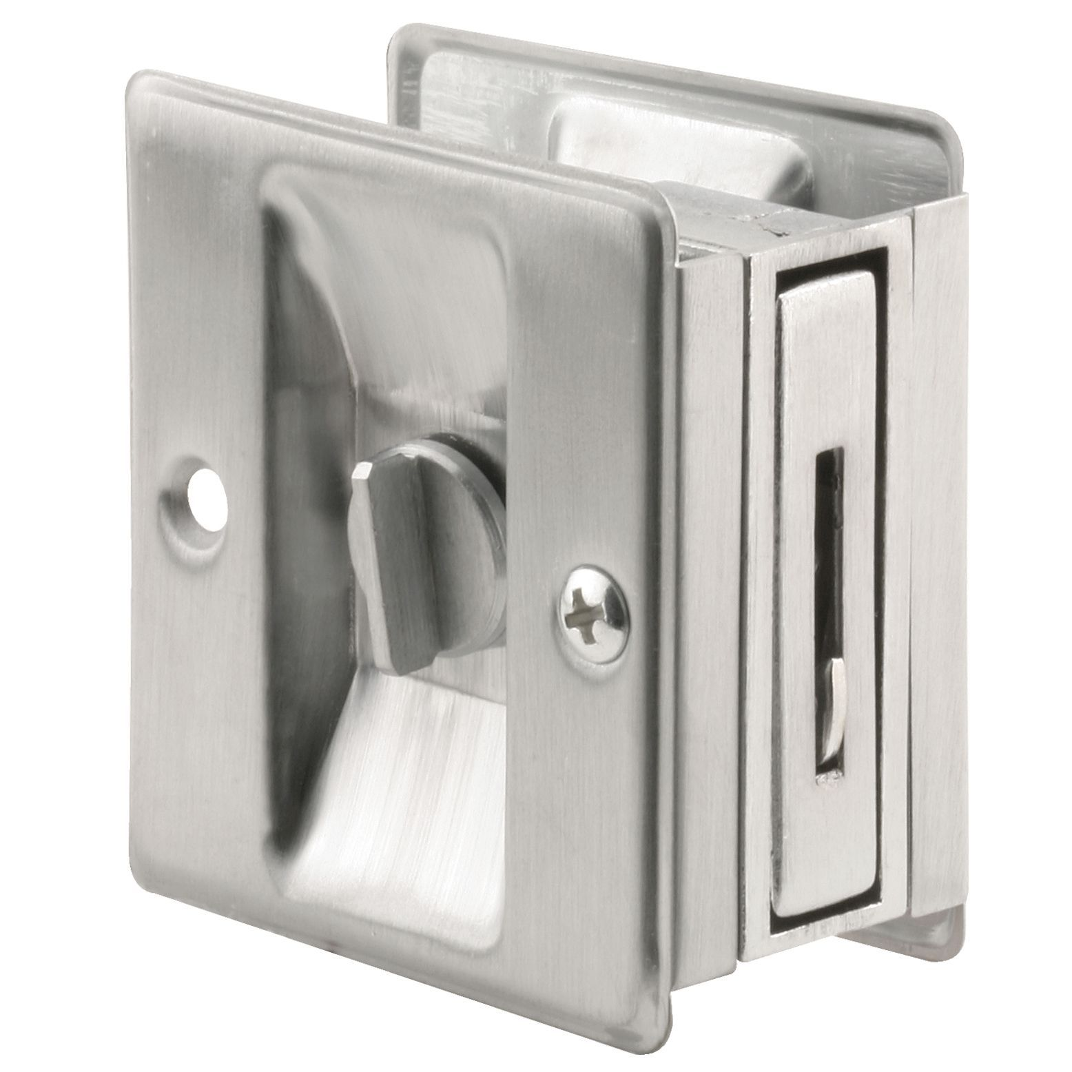 Prime Line N7161 1 38 Satin Chrome Plated Pocket Door Lock Pull
