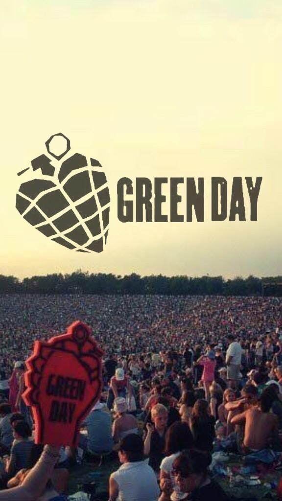 ➡ Wallpaper Lockscreen Green Day