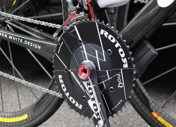 Rotor Flow Aero Crankset Though It S Designed For Time Trials