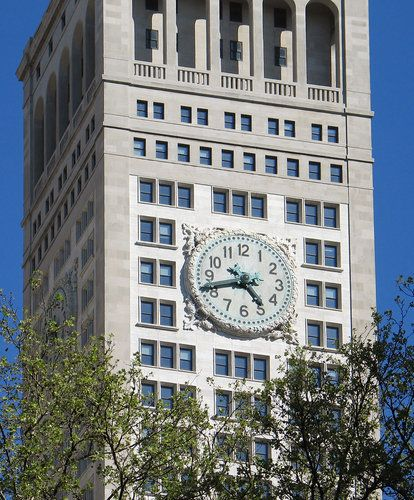 Clock Tower Of The Metropolitan Life Insurance Company Also Known