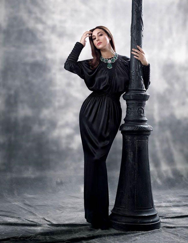 Картинки по запросу monica bellucci total black
