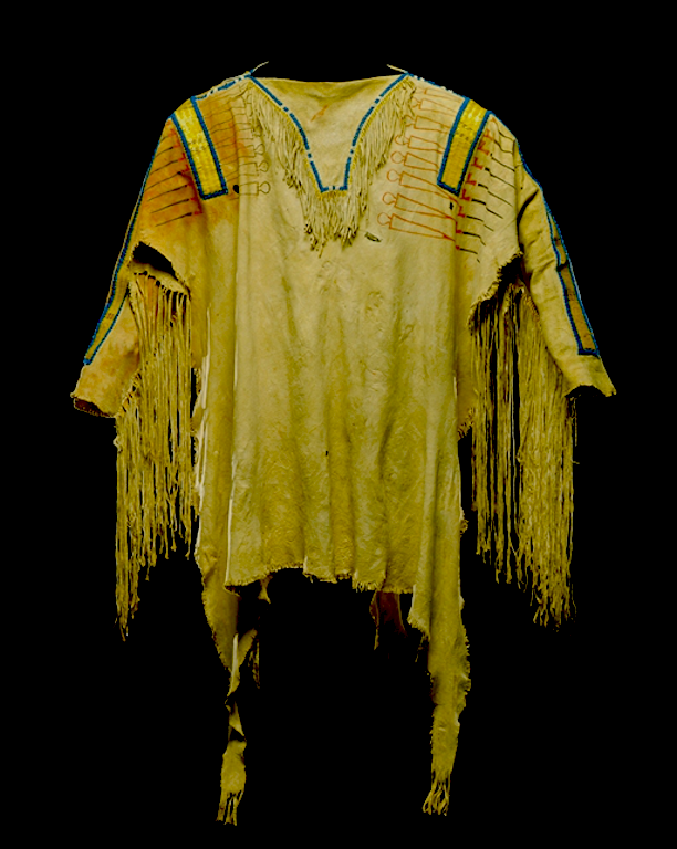 Shirt, early 19th century. Detroit Inst. Arts