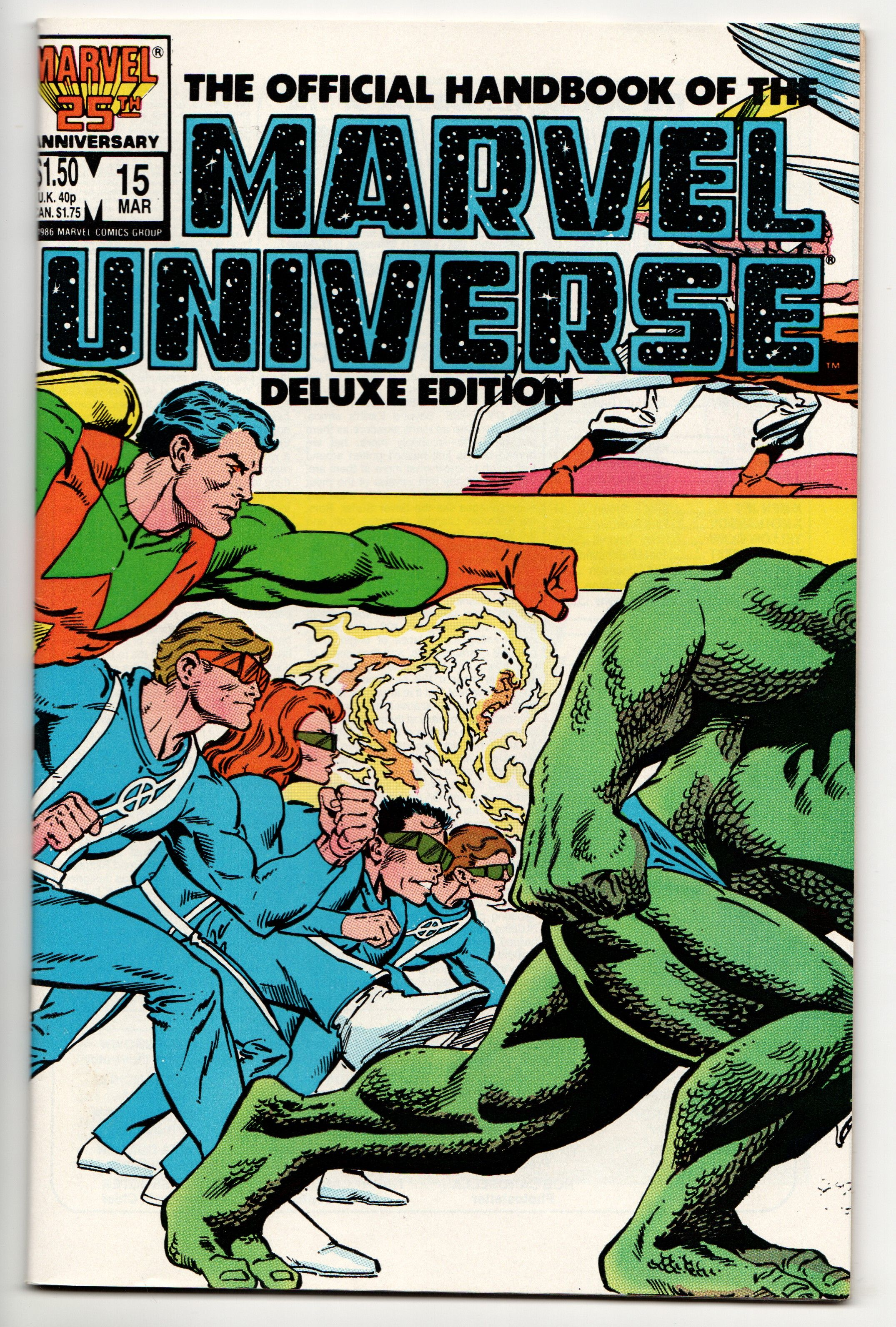 Official Handbook of the Marvel Universe 15 Deluxe