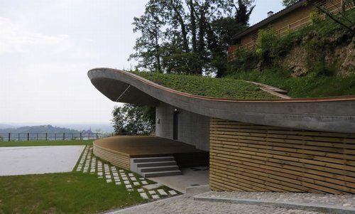 techos verdes un jardn en la azotea de la casa casas viviendas color verde pinterest la eficiencia energtica casas modernas y estetica