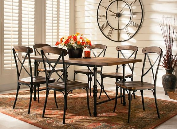 Linden 7 pc  Dining Set   Dining Sets   Raymour and Flanigan Furniture. Linden 7 pc  Dining Set   Dining Sets   Raymour and Flanigan
