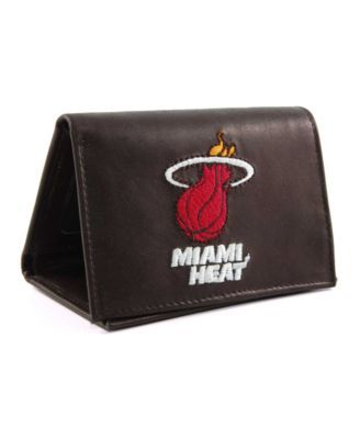 Rico Industries Miami Heat Trifold Wallet