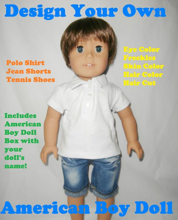 Custom Design Your Own American Girl Boy Doll Brand New American Boy Doll Boy Doll American Girl,Simple Blouse Back Neck Designs Images Free Download