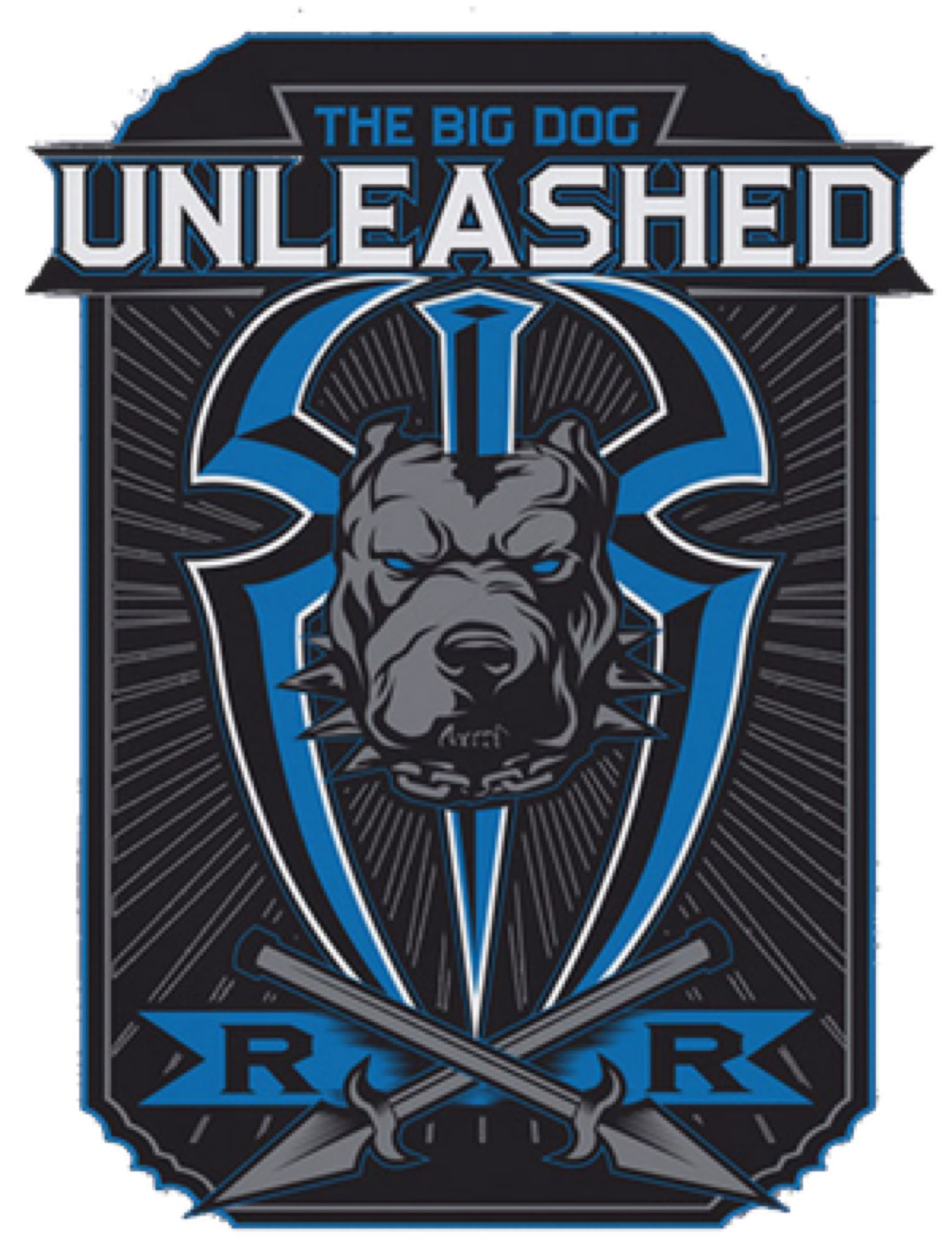 Roman Reigns 'Big Dog Unleashed' 2019 Logo PNG by