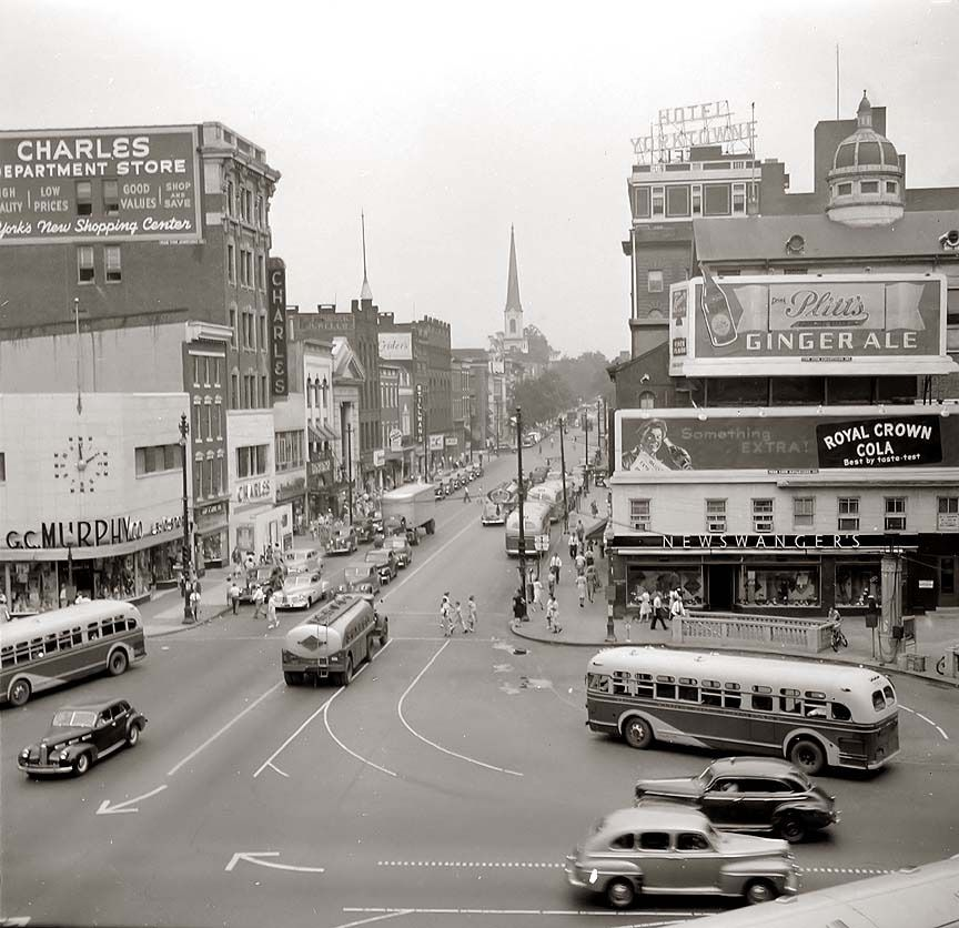 Downtown York Likely In The Early 1940s York Pa