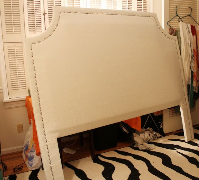 Running from the Law: DIY Upholstered Headboard