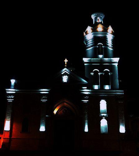 Iglesia de San Sebastián. Cuenca, Ecuador