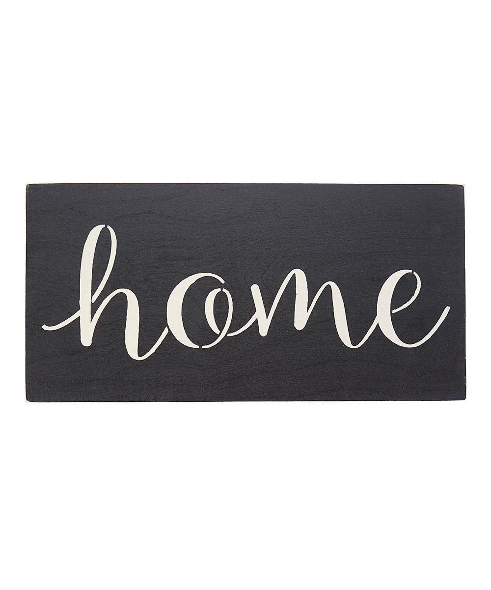 Script 'Home' Indoor/Outdoor Wall Sign