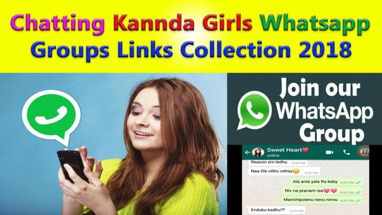 Chatting Kannada Girls Whatsapp Groups Links collection