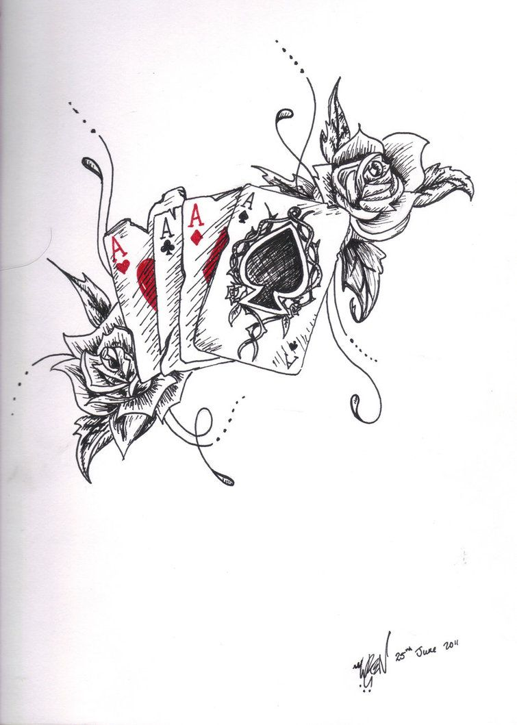 Ace Tattoo Design by Toiger on DeviantArt