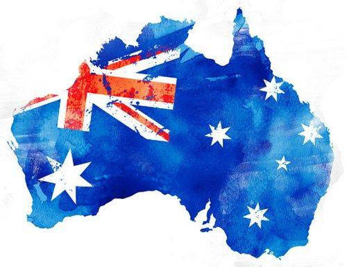 f097ac48ad australian flag watercolour - Google Search | Invitation | Australia ...