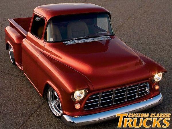 Red Pearl Or Metallic Classic Trucks Classic Chevy Trucks