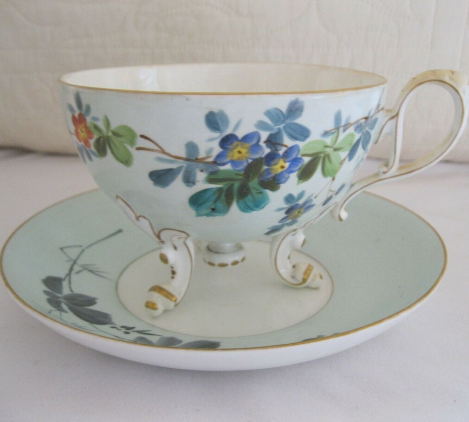 Samson Bridgwood London Antique Mustache Cup And Saucer Set Vintagedishes Shabychic Shabbychicdecor Cupandsaucercraft In 2020 With Images Pretty Tea Cups Tea Cups Fancy Cup