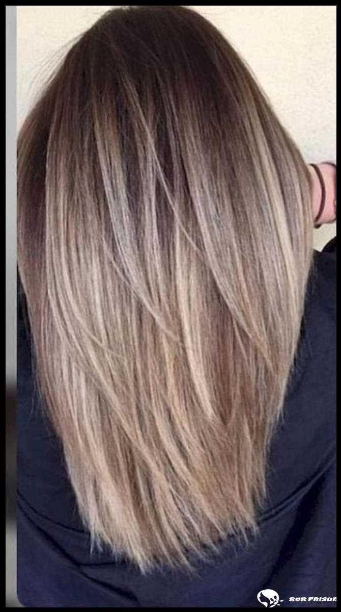 Balayage Glattes Haar