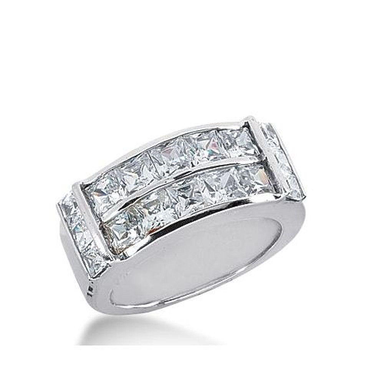 950 Platinum Diamond Anniversary Wedding Ring