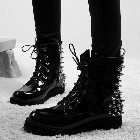 not gonna lie, the spikes only make me want to kick people