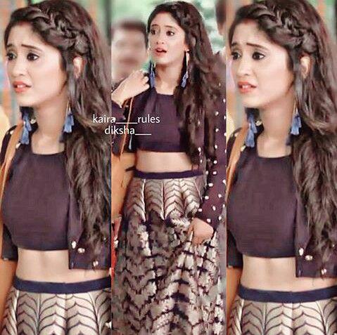 Shivangi Joshi Kairaholics Pinterest Saree Hairstyles Fashion