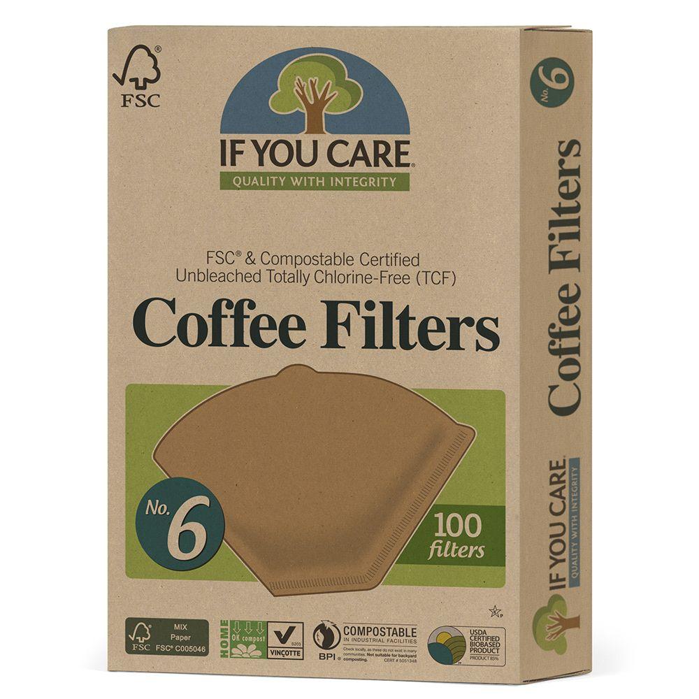 No. 6 Coffee Filters Coffee filters, Filter coffee, Filters